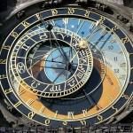 Орлой — старые часы на Староместской площади