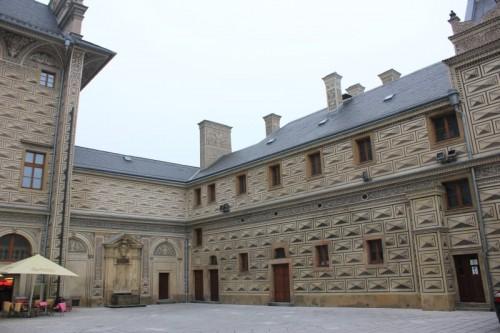 Шварценбергский дворец в Праге. Двор