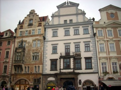 Дом на Староместской площади - Шторховский