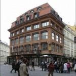 Дом «У черной Божьей матери» — музей чешского кубизма.