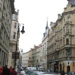 Улица Майзела в Праге.