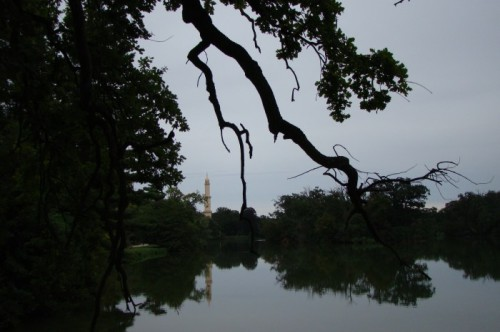 Парк замка Леднице