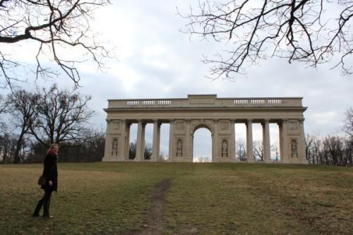 Коринфская колоннада