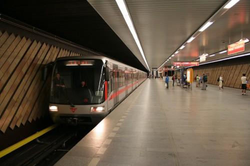 Новые электрички в пражском метро