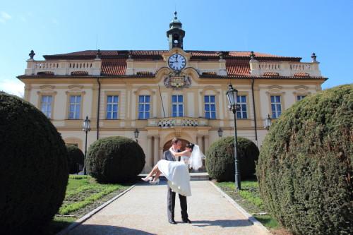 Свадьба в Либеньском замке